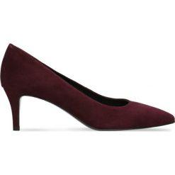 Czółenka RUMI. Czerwone buty ślubne damskie Gino Rossi, ze skóry, na szpilce. Za 224,95 zł.