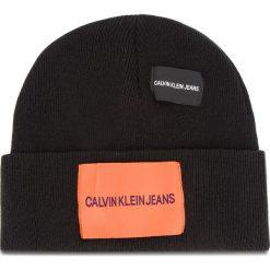 Czapka CALVIN KLEIN JEANS - J Patches Beanie W K40K400755 016. Szare czapki zimowe damskie marki Calvin Klein Jeans, na zimę, z jeansu. Za 179,00 zł.