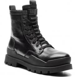 Trapery G-STAR RAW - Rackam Boot D10149-8706-990 Black. Czarne botki męskie G-Star RAW, z materiału. Za 1079,00 zł.