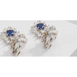CZ by Kenneth Jay Lane EAR OVAL DROP Kolczyki royal blue. Niebieskie kolczyki damskie CZ by Kenneth Jay Lane. W wyprzedaży za 538,85 zł.