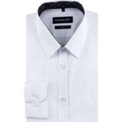 Koszula MICHELE slim KDBS000473. Białe koszule męskie na spinki marki bonprix, z klasycznym kołnierzykiem. Za 259,00 zł.