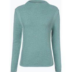 Marie Lund - Sweter damski, niebieski. Niebieskie swetry klasyczne damskie Marie Lund, s, z bawełny, ze stójką. Za 229,95 zł.