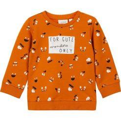"""Bluzy niemowlęce: Bluza """"Olmin"""" w kolorze pomarańczowym"""