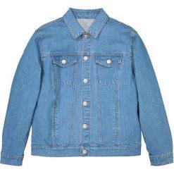 Bluza dżinsowa oversize 10-16 lat. Niebieskie bluzy chłopięce rozpinane La Redoute Collections, z bawełny. Za 126,38 zł.