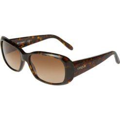 VOGUE Eyewear Okulary przeciwsłoneczne dunkelbraun. Brązowe okulary przeciwsłoneczne damskie aviatory VOGUE Eyewear. Za 429,00 zł.