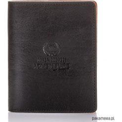 SKÓRZANY PORTFEL MĘSKI PAOLO PERUZZI 496-PP. Czarne portfele męskie Pakamera, ze skóry. Za 99,00 zł.