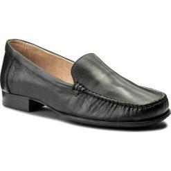 Mokasyny CAPRICE - 9-24250-20 Black Nappa 022. Czarne mokasyny damskie marki Caprice, ze skóry. W wyprzedaży za 169,00 zł.