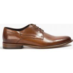 Półbuty brązowe Peppe. Brązowe buty wizytowe męskie Badura. Za 239,99 zł.