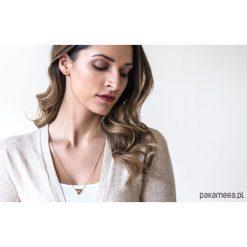 Kolczyki damskie: Srebrne kolczyki Sole Earrings Triangle