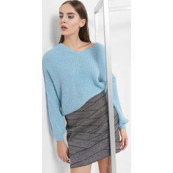 Sweter oversize. Brązowe swetry oversize damskie marki Orsay, s, z dzianiny. Za 79,99 zł.