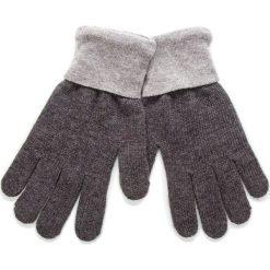 Rękawiczki Damskie TRUSSARDI JEANS - Gloves Logo 57Z00100 E650. Szare rękawiczki damskie Trussardi Jeans, z jeansu. Za 169,00 zł.