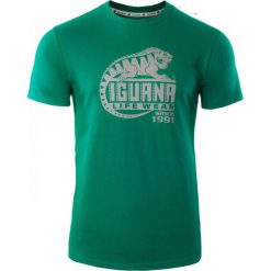 IGUANA Koszulka męska Dejen Ultramarine Green r. M. Brązowe koszulki sportowe męskie marki IGUANA, s. Za 51,57 zł.