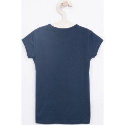 Pepe Jeans - Top dziecięcy Hana 104-180 cm. Szare bluzki dziewczęce bawełniane Pepe Jeans, z nadrukiem, z okrągłym kołnierzem. Za 79,90 zł.