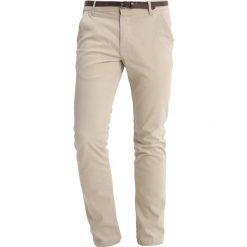 Chinosy męskie: Lindbergh CLASSIC STRETCH Spodnie materiałowe sand