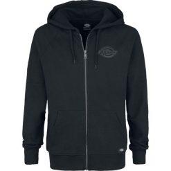 Dickies Evansville Bluza z kapturem rozpinana czarny. Szare bluzy męskie rozpinane marki Dickies, na zimę, z dzianiny. Za 199,90 zł.