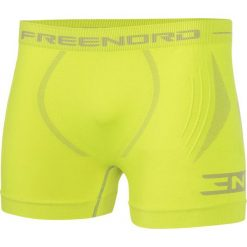 Bokserki męskie: Freenord Bokserki męskie ThermoTech EVO Freenord Lime r. M