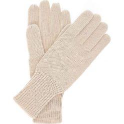Rękawiczki damskie. Brązowe rękawiczki damskie Ochnik, z dzianiny. Za 39,90 zł.