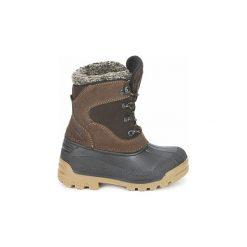 Śniegowce Dziecko Meindl  SÖLDEN JUNIOR. Czarne buty zimowe chłopięce marki Superfit, z gore-texu, przed kolano, na wysokim obcasie. Za 311,20 zł.