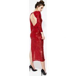 Długie sukienki: Czerwona Sukienka Fever Nights