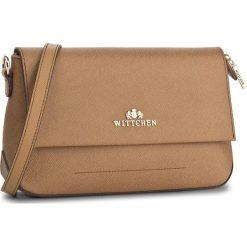 Torebka WITTCHEN - 85-4E-443-5 Brązowy. Brązowe torebki klasyczne damskie Wittchen. W wyprzedaży za 289,00 zł.