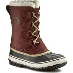 Śniegowce SOREL - 1964 Pac 2 NL1645 Redwood/British Tan 628. Brązowe śniegowce damskie Sorel, z gumy. W wyprzedaży za 309,00 zł.