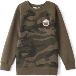 Odzież chłopięca: Bluza z nadrukiem moro 3-12 lat