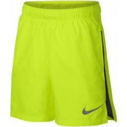 Nike Szorty Chłopięce B Nk Dry Short 6in Challgr Volt Black S. Czarne spodenki chłopięce Nike, z materiału, sportowe. Za 105,00 zł.