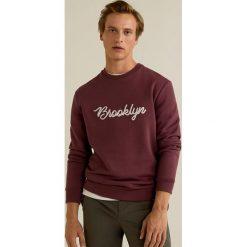 Mango Man - Bluza Chelsea. Brązowe bluzy męskie rozpinane marki Mango Man, l, z aplikacjami, z bawełny, bez kaptura. W wyprzedaży za 89,90 zł.