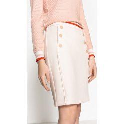 Minispódniczki: Spódnica w marynarskim stylu