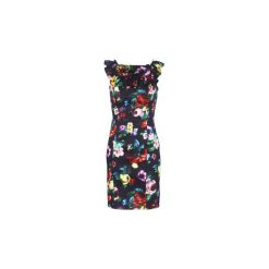 Sukienki krótkie Love Moschino  WVG3100. Sukienki małe czarne marki Love Moschino, z krótkim rękawem. Za 967,20 zł.
