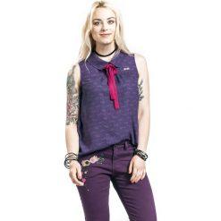 Harry Potter Luna Lovegood - Wit Beyond Measure Koszula damska fioletowy (Aubergine). Fioletowe koszule wiązane damskie marki Harry Potter, xl, z nadrukiem, bez rękawów. Za 121,90 zł.