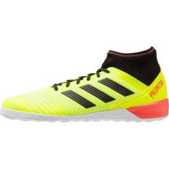 Adidas Performance PREDATOR TANGO 18.3 IN Halówki solar yellow/core black/solar red. Żółte buty skate męskie adidas Performance, z gumy, do piłki nożnej. Za 379,00 zł.