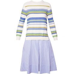 Sukienki hiszpanki: WEEKEND MaxMara MOSELLA Sukienka letnia bianco avorio