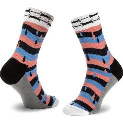 Skarpety Wysokie Unisex HAPPY SOCKS - ATMON27-3000 Kolorowy. Czerwone skarpetki męskie marki Happy Socks, z bawełny. Za 59,90 zł.