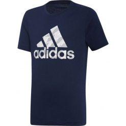 Koszulka chłopięca BOS granatowa r. 140 cm (DI0364). Niebieskie t-shirty chłopięce Adidas. Za 52,28 zł.