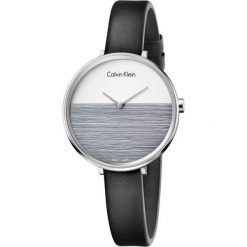 ZEGAREK CALVIN KLEIN RISE K7A231C3. Niebieskie zegarki damskie Calvin Klein, szklane. Za 949,00 zł.