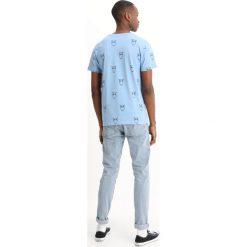 T-shirty męskie z nadrukiem: Knowledge Cotton Apparel BIG OWL  Tshirt z nadrukiem allure