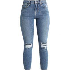 Boyfriendy damskie: Topshop Petite JAMIE Jeans Skinny Fit blue