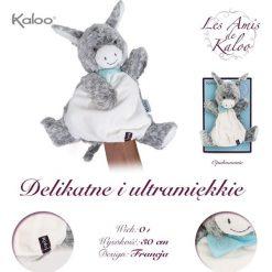 Przytulanki i maskotki: Kaloo – Osiołek Popielaty pierwsza przytulanka pacynka 30 cm kolekcja Les Amis