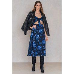 FAYT Sukienka Jase - Blue,Multicolor. Zielone sukienki z falbanami marki Emilie Briting x NA-KD, l. Za 207,95 zł.
