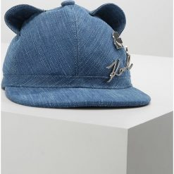 KARL LAGERFELD CAT EARS Czapka z daszkiem denim. Niebieskie czapki z daszkiem damskie KARL LAGERFELD, z bawełny. Za 429,00 zł.