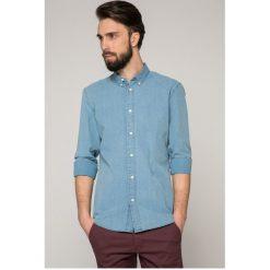 Selected - Koszula. Czarne koszule męskie na spinki marki TOM TAILOR DENIM, l, z bawełny, button down, z długim rękawem. W wyprzedaży za 119,90 zł.