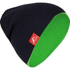 """Czapki męskie: Dwustronna czapka """"Westfjord"""" w kolorze jasnozielono-granatowym"""