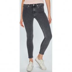 Calvin Klein Jeans - Jeansy 001. Szare jeansy damskie marki Calvin Klein Jeans, z bawełny. Za 399,90 zł.