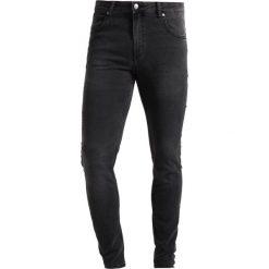Cheap Monday HIM SPRAY Jeans Skinny Fit crush grey. Szare rurki męskie Cheap Monday. Za 209,00 zł.
