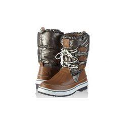 Śniegowce Le Coq Sportif  Minka Snow Boot. Szare buty zimowe damskie le coq sportif. Za 193,26 zł.