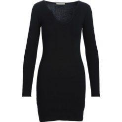 Czarna Sukienka Association. Czarne sukienki dzianinowe marki Born2be, l. Za 44,99 zł.
