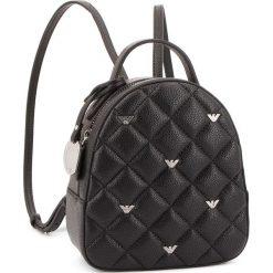 Plecak EMPORIO ARMANI - 392513 8A550 00020 Black. Czarne plecaki damskie Emporio Armani, ze skóry ekologicznej, eleganckie. Za 689,00 zł.