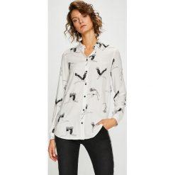 Medicine - Koszula Basic. Szare koszule damskie MEDICINE, l, z tkaniny, casualowe, z klasycznym kołnierzykiem, z długim rękawem. Za 69,90 zł.