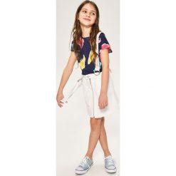 Spódnica na szelkach - Biały. Białe spódniczki dziewczęce Reserved. W wyprzedaży za 49,99 zł.
